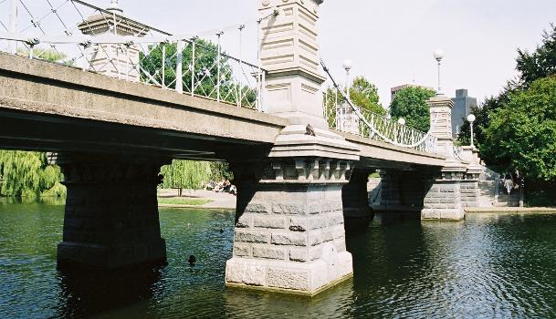Lagoon Bridge, Boston Public Gardens, Boston, Massachusetts