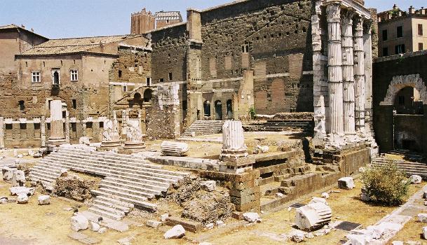 Tempel des Mars, Forum Augustus, Rom