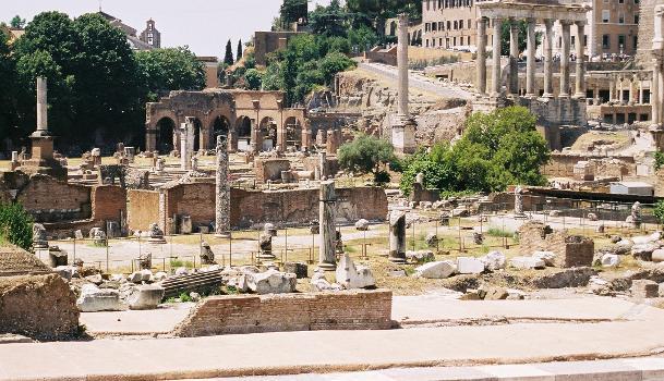 Basilica Aemilia, Forum Romanum, Rome
