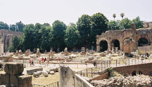 Basilica Julia, Forum Romanum, Rom