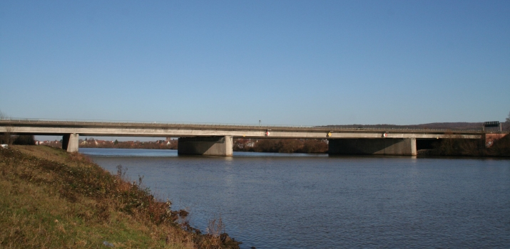 Mainbrücke Stockstadt