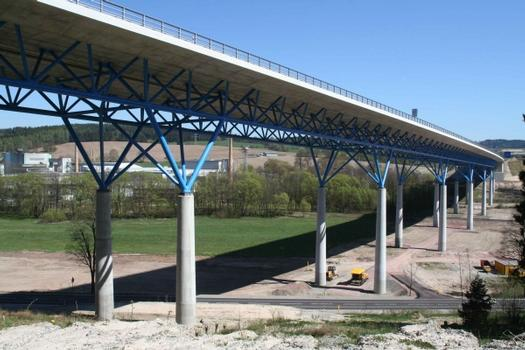 Talbrücke St. Kilian,  Bundesautobahn A73 bei St. Kilian, Landkreis Hildburghausen
