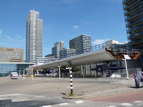 Metrobahnhof Den Haag CS der Erasmuslijn