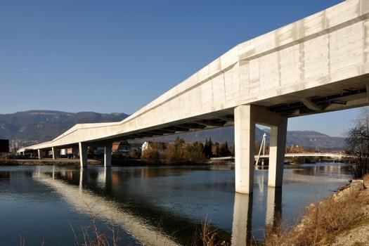 Pont de la rocade ouest de Soleure