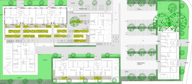 Isometrie Bewehrungsführung im Bereich der Wohnraumerweiterungen