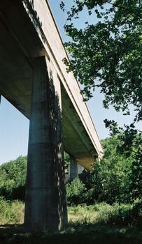 Aqueduc du Canal de Provence sur l'Abéou