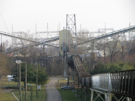 Muskingum River Conveyor Bridge