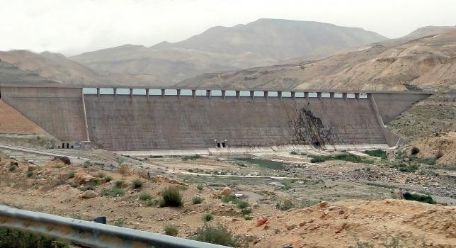 Wadi Al-Mujib-Damm