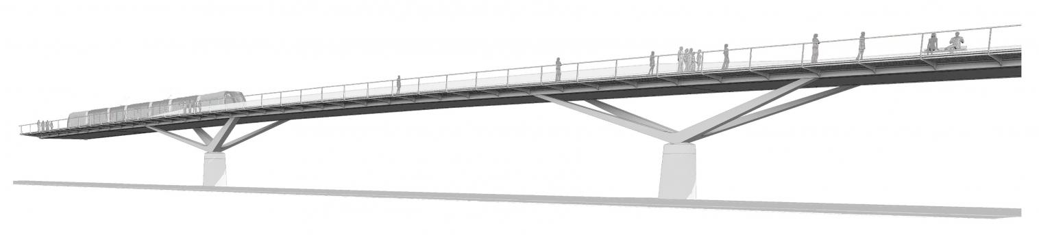 Pont-tramway des Treilles
