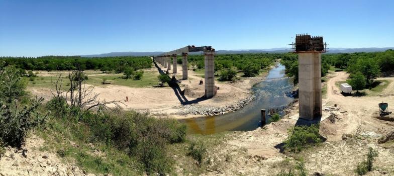 Wasserleitungsbrücke Anisacate