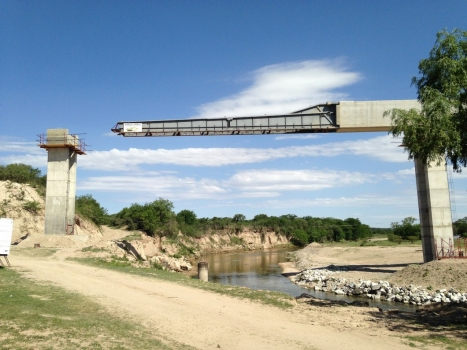 Anisacate Canal Bridge