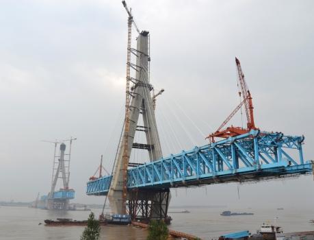 Anqing Yangtze River Rail Bridge