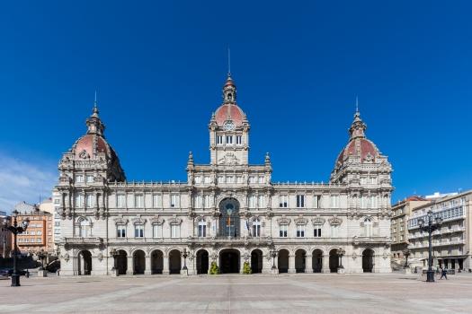 Rathaus von La Coruña