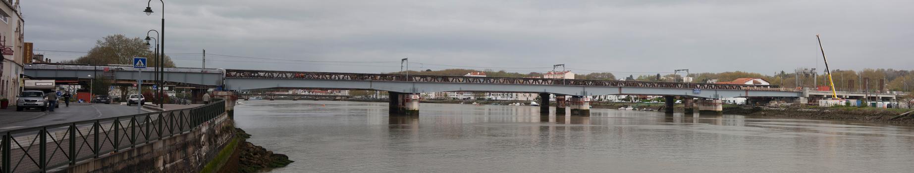 Eisenbahnbrücke Bayonne