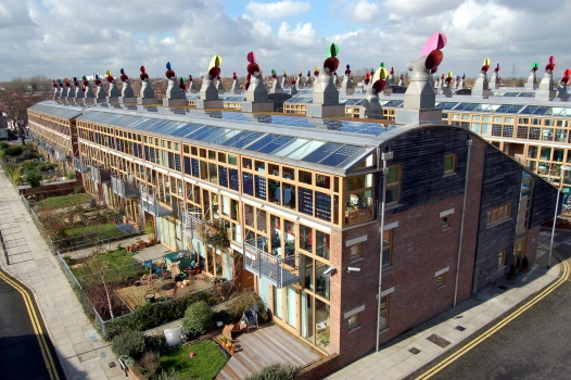 Beddington Zero Energy Development (BedZED), Hackridge