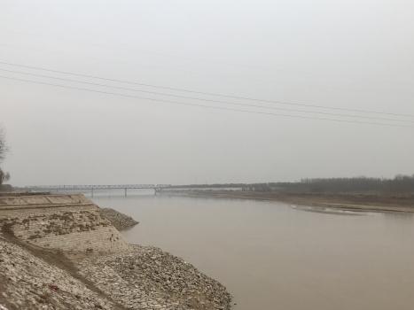 Eisenbahnbrücke Caojiaquan