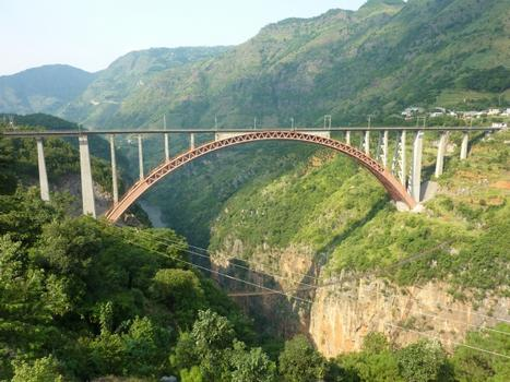 Beipanjiang Railroad Bridge