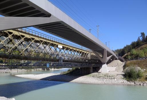 Hinterrheinbrücke Reichenau