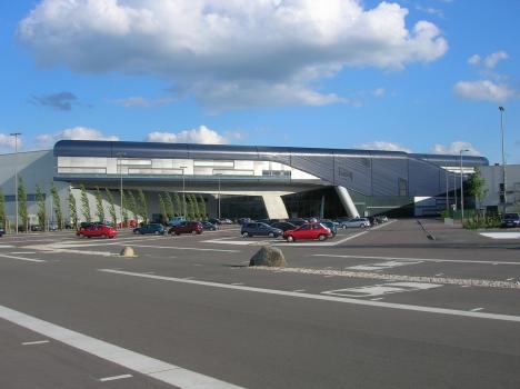 Zentralgebäude BMW-Werk Leipzig