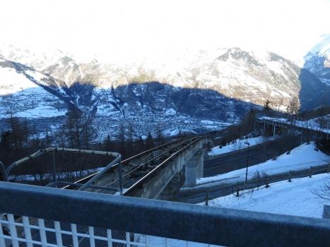 Standseilbahnviadukt Bourg-Saint-Maurice