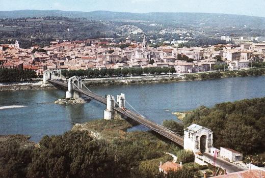 Pont suspendu de Bourg-Saint-Andéol