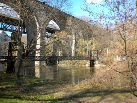 Brandywine Park Swinging Bridge