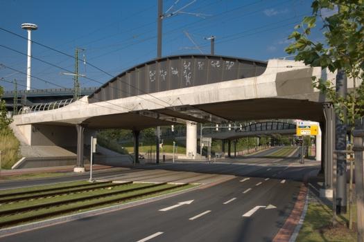 Eisenbahnüberführung Stephanitor in Bremen