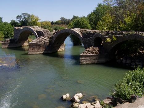 Saint-Thibery Roman Bridge