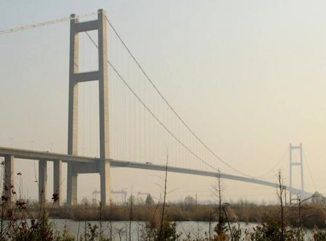 Runyang Yangtze River North Bridge