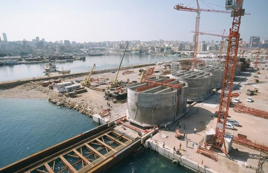 Beirut Sea Front Caissons