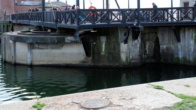 Canning Half Tide Dock Swing Bridge