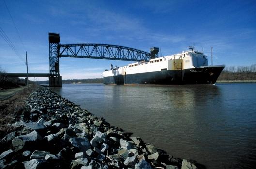 Chesapeake & Delaware Canal Lift Bridge