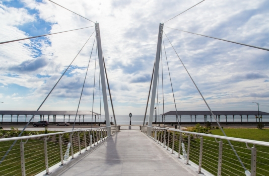 Christina and John Markey Memorial Pedestrian Bridge