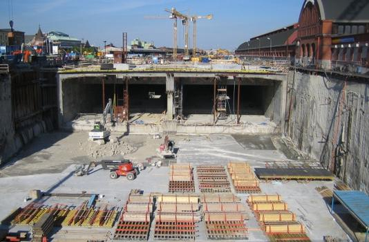 Gare souterraine de Malmö C