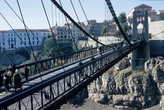Sidi M'Cid Suspension Bridge
