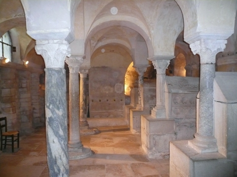 Crypt of Saint Paul at Jouarre