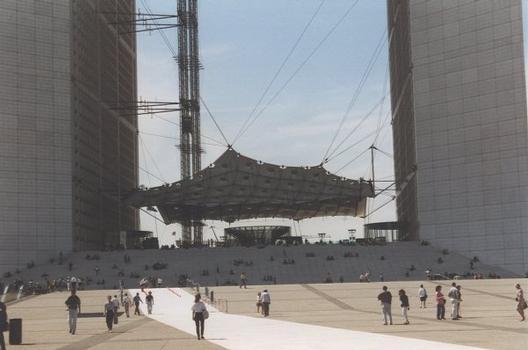 Grande Arche in Paris-La Défense