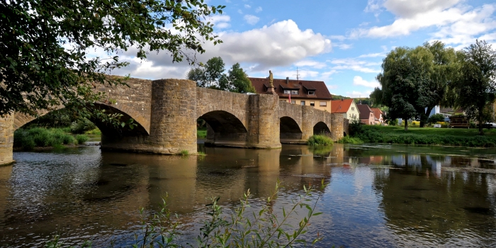Tauberrettersheim Bridge