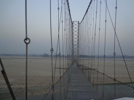 Ponts suspendus de Dhodhara-Chandani