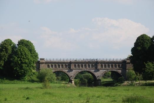 Kanalbrücke über die Stever