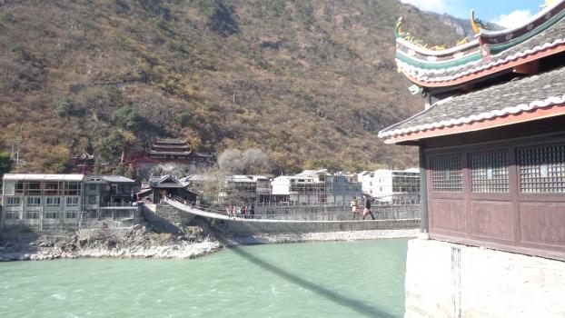 Luding Iron-Chain Bridge