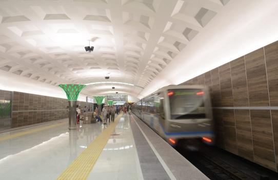 Metrobahnhof Dubrawnaja