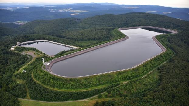 Waldeck II Pumped-Storage Reservoir