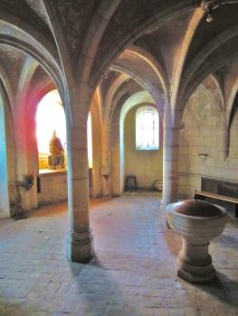 Église Saint-Sébastien de Dieulouard Crypte