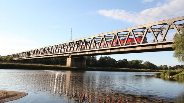 Herrenkrug Rail Bridge