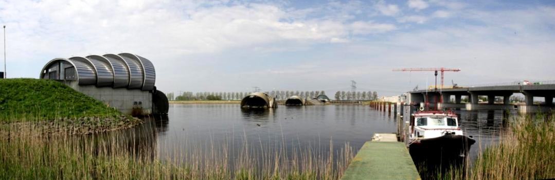 Barrage pneumatique de Ramspol