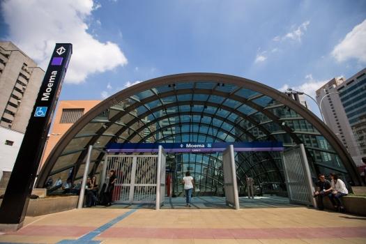 Moema Metro Station