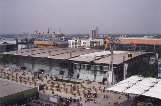 Pavillon allemand à l'Expo 2000
