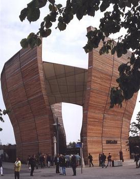 Pavillon hongrois à l'Expo 2000