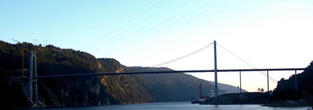 Feda Fjord Bridge